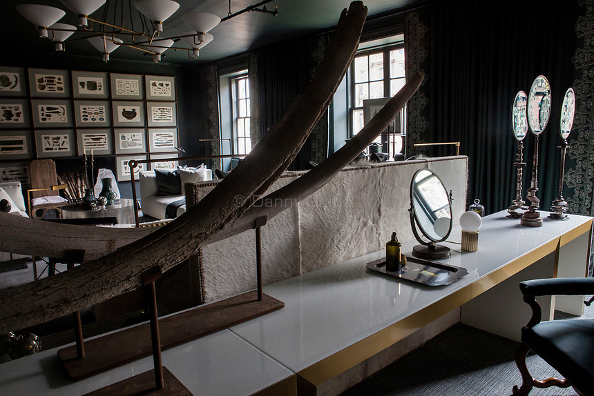 Design by Susan Ferrier of McAlpine at The 45th Kips Bay Decorator Show House, at 125 East 65th St. <br /> <br /> Danny Ghitis for The New York Times