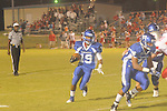Water Valley's James Washington (19) vs. South Pontotoc in Water Valley, Miss. on Friday, October 5, 2012. Water Valley won 47-20.