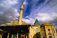 Mevlana Museum and Tomb of Mevalana Celaleddin, Konya, Turkey