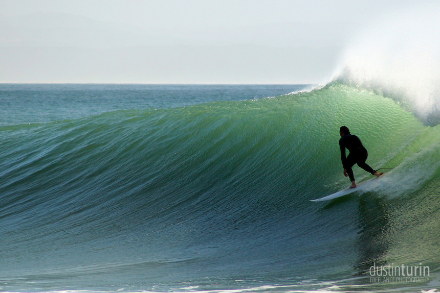 Another day of perfect swell in Jeffreys Bay (J-Bay), South Africa.