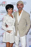 HOLLYWOOD, LOS ANGELES, CA, USA - NOVEMBER 10:  Lorena Mendoza, Shaun Toub arrives at the AFI FEST 2014 - 'The Gambler' Gala Screening held at the Dolby Theatre on November 10, 2014 in Hollywood, Los Angeles, California, United States. (Photo by Xavier Collin/Celebrity Monitor)