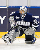 Matt DiGirolamo (UNH - 30) - The University of Notre Dame Fighting Irish defeated the University of New Hampshire Wildcats 2-1 in the NCAA Northeast Regional Final on Sunday, March 27, 2011, at Verizon Wireless Arena in Manchester, New Hampshire.