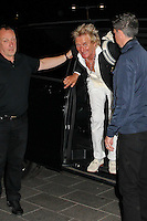 Rod Stewart seen outside Grand Hotel