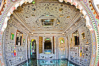 The mirror room was a de rigueur addition to any aspiring palace. (Photo by Matt Considine - Images of Asia Collection)