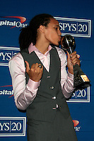 LOS ANGELES - JUL 11:  Brittney Griner in the Press Room of the 2012 ESPY Awards at Nokia Theater at LA Live on July 11, 2012 in Los Angeles, CA