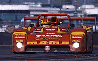 The Ferarri 333SP of  Gianpiero Moretti, Arie Luyendyk, Mauro Baldi, and Didier Theys races to victory in the 24 Hours of Daytona, Daytona International Speedway, Daytona Beach, FL, February 1, 1998.  (Photo by Brian Cleary/www.bcpix.com)