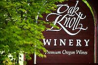 Oak Knoll Sign