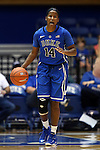 26 October 2014: Ka'lia Johnson. The Duke University Blue Devils held their annual Blue-White Game at Cameron Indoor Stadium in Durham, North Carolina in preparation of the upcoming 2014-15 NCAA Division I Women's Basketball season.