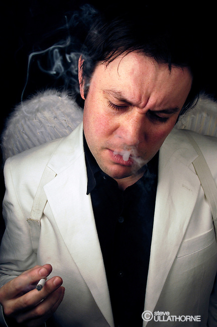 "Chas Early as Bill Hicks in ""A Slight Return"" PLeasance Theatre Edinburgh and The Venue London 2005/6"