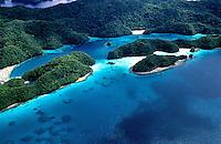 Aerial Palau Micronesia