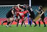 Pontypridd's Tom Riley gets some rough treatment from Neath's Martin Morgan. Neath V Pontypridd, Konica Minolta Cup Final 0508 © Ian  Cook, IJC Photography, www.ijcphotography.co.uk, iancook@ijcphotography.co.uk.