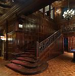 Krueger Grand Staircase. Photo by Matt Flynn © 2014 Cooper Hewitt, Smithsonian Design Museum