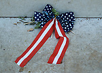 Red, White, Blue Flag Ribbon