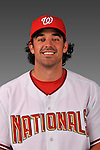 14 March 2008: ..Portrait of Don Levinski, Washington Nationals Minor League player at Spring Training Camp 2008..Mandatory Photo Credit: Ed Wolfstein Photo