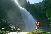 National Park Hohe Tauern, Salzburgerland, Austria, May 2006. Waterfalls of Krimml. Trekking the alms means lots of good mountain life, wallking and good food. Photo by Frits Meyst/Adventure4ever.com