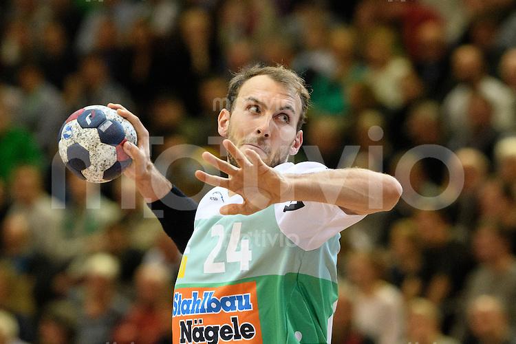Marcel Schiller (FAG) beim Wurf