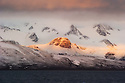 Svalbard moutains in Spitsbergen