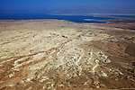 View From Masada Of The Dead Sea