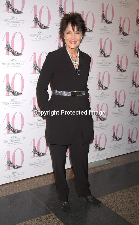 """..LInda Dano in Yeohlee..at the 10th annual  QVC presents """"FFANY Shoes on Sale """" event on October 15, 2003 at the  Ameriacn Museum of Natural History...Photo By Robin Platzer, Twin Images...."""