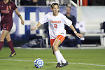 08 November 2013: Virginia's Kate Norbo. The University of Virginia Cavaliers played the Virginia Tech Hokies at WakeMed Stadium in Cary, North Carolina in a 2013 NCAA Division I Women's Soccer match and the semifinals of the Atlantic Coast Conference tournament. Virginia Tech won the game 4-2.
