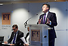 UK launch of Inclusive Prosperity Commission Report at the Financial Times, London, Great Britain on <br /> 19th January 2015 <br /> On behalf of the Centre for American Progress,<br /> co-chaired by Larry Summers, former Treasury Secretary, and Ed Balls MP, Shadow Chancellor of the Exchequer with Neera Tanden, Wayne Swan, former Deputy Prime Minister and former Treasurer of Australia, Chris Keates, General Secretary NASUWT and others. <br /> <br /> Photograph by Elliott Franks <br /> <br /> <br /> Image licensed to Elliott Franks Photography Services