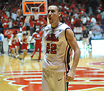 Mississippi's Marshall Henderson (22) celebrates a 64-49 win vs. Missouri at the C.M. &quot;Tad&quot; Smith Cliseum on Saturday, January 12, 2013. (AP Photo/Oxford Eagle, Bruce Newman)