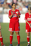 19 June 2003: Washington Freedom midfielder Steffi Jones played for the WUSA World Stars. The WUSA World Stars defeated the WUSA American Stars 3-2 in the WUSA All-Star Game held at SAS Stadium in Cary, NC.