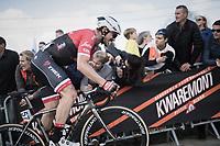 John Degenkolb (DEU/Trek-Segafredo) pushing hard for the final climb up the Paterberg<br /> <br /> 101th Ronde Van Vlaanderen 2017 (1.UWT)<br /> 1day race: Antwerp &rsaquo; Oudenaarde - BEL (260km)