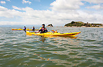 New Zealand South Island, kayaking from Kaiteriteri Beach along the coast in Abel Tasman National Park. Photo copyright Lee Foster.