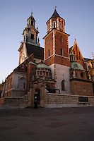 Poland, Krakow, Wawel, Cathedral, Basilica of Sts. Stanislaw and Vaclav