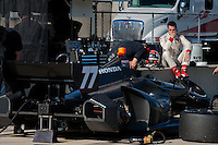 20-21 Febuary, 2012 Birmingham, Alabama USA.Simon Pagenaud .(c)2012 Scott LePage  LAT Photo USA