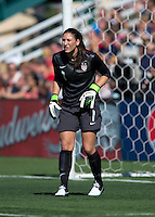 Hope Solo.  The USWNT defeated Costa Rica, 8-0, during a friendly match at Sahlen's Stadium in Rochester, NY.