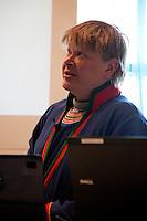 Rovdyrtap er et aktutt problem for mange i reindriften. Sametingets rovviltseminar ble arrangert for første gang i Stjørdal 10. og 11. november. Mattias Jåma, Låarte/Luru reinbeitedistrikt.