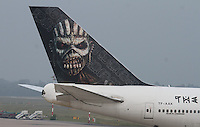Iron Maiden Ed Force One Boeing 747-428
