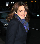 """Celebrities visit """"Late Show with David Letterman"""" New York, Ny January 5, 2012"""