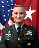Tampa, FL - (FILE) -- File photo taken November 18, 2008 of Major General Jay W. Hood, who assumed duties as the Chief of Staff, U.S. Central Command on July 1, 2008.  General Hood is a distinguished graduate of Pittsburg State University and was commissioned as a Field Artillery Officer in 1975.  General Hood's military education includes the Field Artillery Officer Basic and Advanced Courses, Basic Airborne School, and the Jumpmaster School. He is a graduate of the U.S. Army Command and General Staff College and a distinguished graduate of the U.S. Naval War College..Credit: DoD via CNP