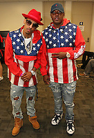 NEW ORLEANS, LA - JULY 3, 2016 Suga J & Mase backstage at Essence Festival at Mercedes Benz Superdome, July 3, 2016 in New Orleans, Louisiana. Photo Credit: Walik Goshorn / Media Punch