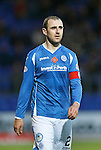 St Johnstone v Kilmarnock...07.11.15  SPFL  McDiarmid Park, Perth<br /> Dave Mackay<br /> Picture by Graeme Hart.<br /> Copyright Perthshire Picture Agency<br /> Tel: 01738 623350  Mobile: 07990 594431