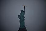 Liberty Statue in New York, United States. 5/5/2012.  Photo by Eduardo Munoz Alvarez / VIEWpress.