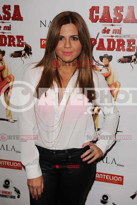 MIAMI BEACH , FL - FEBRUARY 29: Paola Pedroza arrives at the Casa Di Mi Padre movie screening on February 29, 2012 in Miami Beach, Florida. © mpi04 / Media Punch Inc.