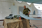 "Ori Gonen, commander of ""Skylark"" UAV unit, at Palmachim Israeli Airforce base."