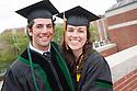 Jeffrey McLaren, left, Elisabeth Anson. Commencement class of 2013.