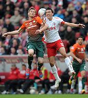 Fussball Bundesliga 2011/12: 1. FC Koeln - SV Werder Bremen