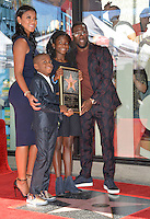 LOS ANGELES, CA. October 10, 2016: Kevin Hart &amp; wife Eniko Parrish &amp; his children Hendrix Hart &amp; Heaven Hart at the Hollywood Walk of Fame Star Ceremony honoring comedian Kevin Hart.<br /> Picture: Paul Smith/Featureflash/SilverHub 0208 004 5359/ 07711 972644 Editors@silverhubmedia.com