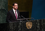 KUWAIT<br /> General Assembly 70th session:  66th plenary meeting<br /> 1. Report of the Credentials Committee (A/70/573 (to be issued)) [item 3 (b)]<br /> 2. Culture of peace [item 16]<br /> (a) Report of the Secretary-General (A/70/373) <br /> (b) Draft resolutions (A/70/L.20 and A/70/L.24 (to be issued))