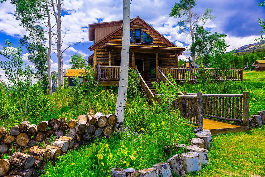 Lynn britt cabin snowmass village aspen colorado usa for Cabine colorado aspen