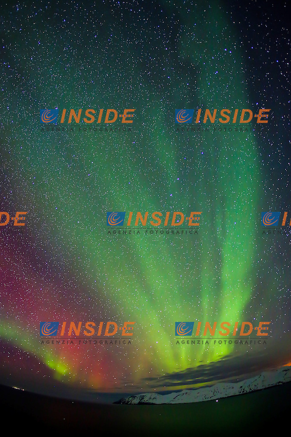 Islanda 22.02.2013.Aurora Boreale .Aurora Borealis.Foto EXPA/ Pixsell/ Filip Brala / Insidefoto..ITALY ONLY
