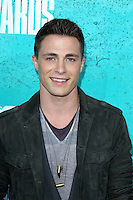 LOS ANGELES - JUN 3:  Colton Haynes arriving at the 2012 MTV Movie Awards at Gibson Ampitheater on June 3, 2012 in Los Angeles, CA