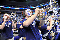 The Bulldogs' band members perform prior to tip-off during the NCAA tournament at the Verizon Center in Washington, D.C. on Thursday, March 17, 2011. Alan P. Santos/DC Sports Box