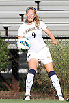07 September 2012: Marquete's Cara Jacobson. The University of North Carolina Tar Heels defeated the Marquette University Golden Eagles 4-0 at Koskinen Stadium in Durham, North Carolina in a 2012 NCAA Division I Women's Soccer game.